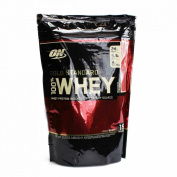 Optimum Nutrition Gold Standard 100% Whey Protein Powder, Vanilla Ice Cream, 450g