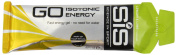 Science in Sport Go Isotonic Energy Gel, 60 ml - Lemon and Lime, Pack of 30