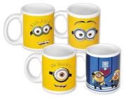 Despicable Me 2 Minions Set of 4 mugs