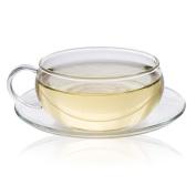 Glass Tea Cup and Saucer 200ml