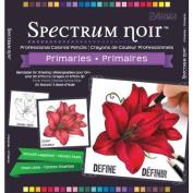 Crafters Companion Spectrum Noir Professional Colouring Pencils - Primaries