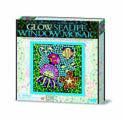 Great Gizmos 4M Easy-To-Do Glow Sealife Window Mosaic Art
