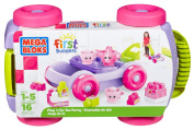 Mega Bloks First Builders Pull N Go Tea Party