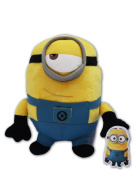 Stuart Minion 25cm Gru Toy Doll Plush Despicable Me 2 Yellow Henchmen Super Soft Monster