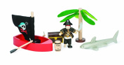 The Pirate Adventure Budkin Treasure Island for Budkins by Le Toy Van