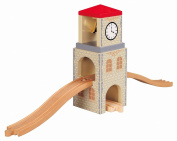 Toys For Play Wooden Railway Clock Tower Connexion