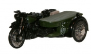 "Oxford Diecast BSA Motorcycle and Sidecar ""Post Office Telephones"" - 1/76 Diecast Model"