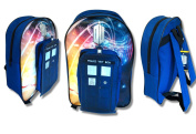 Doctor Who 'Tardis' PVC 50th Anniversary Backpack