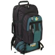 Karabar Globe Traveller 105 Litres Large Backpack With Detachable Daypack - 3 Years Warranty!