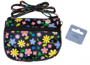 Little Girls Floral Print Purses Shoulder Bag with Long Strap