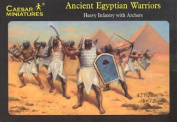 Ancient Egyptian Warriors - 1/72 Plastic Soldiers by Caesar Miniatures