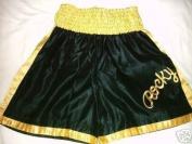 Rocky Balboa Black/Gold boxing shorts Italian Stallion