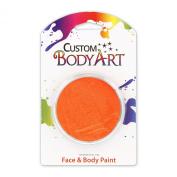 Custom Body Art 18ml Face Paint Colour Single Colours 1-each (Orange) - Great for Parties, Halloween & Birthdays