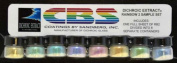 Dichroic Extract Rainbow 2 Sample Set of Eight Jars