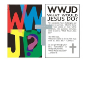 Pocket Cross WWJD Metal 4.4cm Tall Packet of 50 Croses