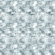 Freespirit Fabrics Eclectic Elements-Tim Holtz 110cm Wide Basket 100-Percent Cotton, Blue, 8-Yard