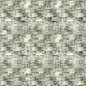Freespirit Fabrics Eclectic Elements-Tim Holtz 110cm Wide Basket 100-Percent Cotton, Grey, 8-Yard
