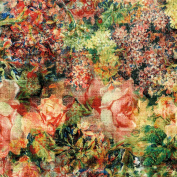 Freespirit Fabrics Eclectic Elements-Tim Holtz 110cm Wide Bouquet 100-Percent Cotton, 8-Yard