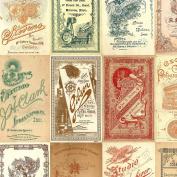 Freespirit Fabrics Eclectic Elements-Tim Holtz 110cm Wide Photo Card 100-Percent Cotton, 8-Yard