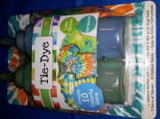 Tie Dye Kit Lime Green & Turquoise Create 10 Colourful Shirts