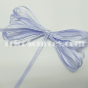 "Baby Shower Ribbon Solid Satin Ribbon Double Faced 1/8""(3mm) x 100YDS Lavender - B4001LV"