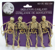 150cm Scary Skeleton Garland Dangling Bone Halloween Decor
