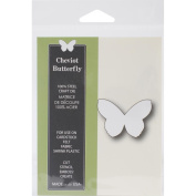 Poppy Stamps Dies ~ Cheviot Butterfly, Style# 1024 ~ 4.3cm X 3cm