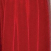 Soft Velvet Red with Woven Edge Decorating Ribbon 3.8cm x 11 Yards