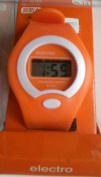 LCD Digital Watch (Orange)