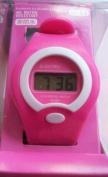 LCD Digital Watch (Pink)