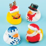 Funky Christmas Ducks Perfect Stocking Filler for Children