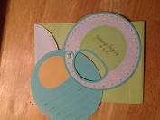 Baby Bib Shower Invitation with Envelopes