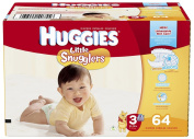 Huggies Little Snugglers Nappies - Big Pack - Size 3 - 64 ct