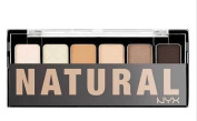 NYX the Natural Eye Shadow Palette 6 Colours
