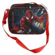 Marvel Spider-Man Rectangle Lunch Bag Box with Strap Spiderman