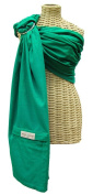 Maya Wrap ComfortFit Ring Sling - Emerald - Large