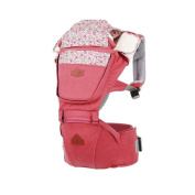Baby Fleur Denim Hipseat + Baby Carrier