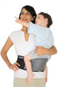 Side Ride Baby Toddler Kid Child Hip Seat Carrier, Black
