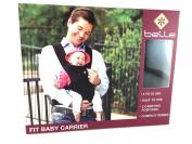 Belle Fit Baby Carrier Microsuede Black 3.6-16kg