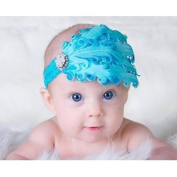 Cool88 Baby/girl's Hair Band Feathers