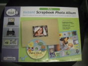 Baby Instant Scrapbook Album - Tan