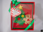 Baby Essential Babys Christmas Tree My First Year Baby Album with Teddy Bear