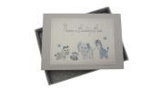 White Cotton Cards Nanny's Boasting Book Tiny Photo Album Toys Range
