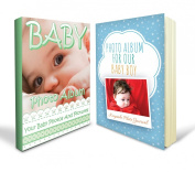 Baby Photo Album Bundle - Record Baby's Most Precious Moments with Two Baby Keepsake Albums - Ideal for Boys and Girls and Absolutely Mom Approved with 90 Day.