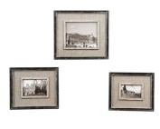 Distressed Black Kalidas Photo Frames Set Of 3