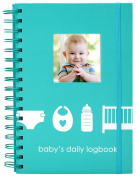 Pearhead Baby's Log Book, Teal