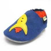 Sayoyo Baby Aeroplane Soft Sole Leather Infant Toddler Prewalker Shoes