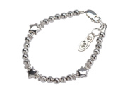 Sterling Silver Baby Bracelet with Stars for Infants and New Baby Shower Gift