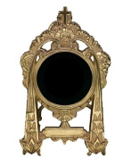 Baptism Gift Picture Frame 7.6cm x 13cm Pewter Made to Look Gold Made in USA
