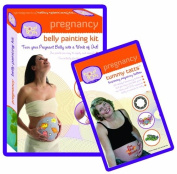 Pregnancy Belly Painting Kit Plus A Tummy Tatts Kit